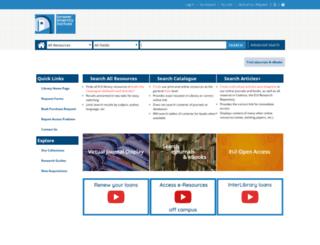 biblio.eui.eu screenshot