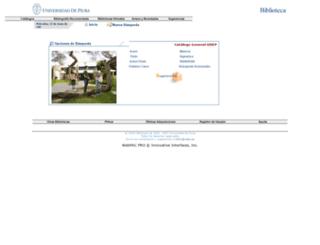 bibliocentral.udep.edu.pe screenshot