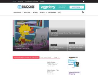 bibliodaze.com screenshot