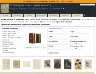 bibliographique.com screenshot