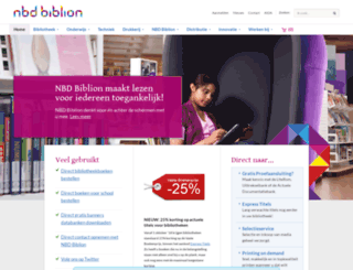 biblion.nl screenshot
