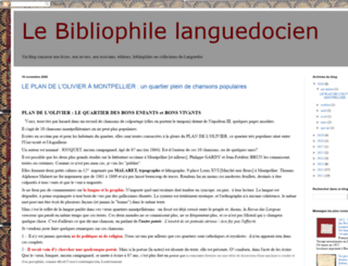 bibliophilelanguedocien.blogspot.ro screenshot