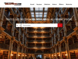 bibliopoche.com screenshot