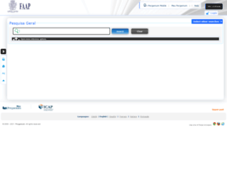 biblioteca.faap.br screenshot
