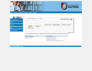 biblioteca.ucsp.edu.pe screenshot