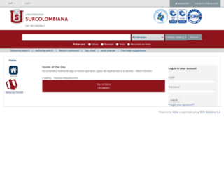 biblioteca.usco.edu.co screenshot