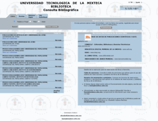 biblioteca.utm.mx screenshot