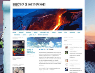 bibliotecadeinvestigaciones.wordpress.com screenshot
