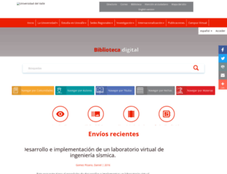 bibliotecadigital.univalle.edu.co screenshot