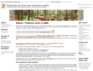 bibliotecadigitala.ro screenshot