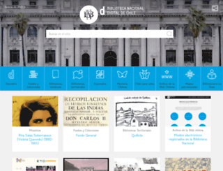 bibliotecanacionaldigital.cl screenshot
