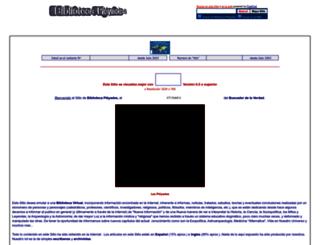 bibliotecapleyades.lege.net screenshot