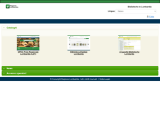 biblioteche.regione.lombardia.it screenshot