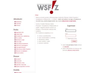 biblioteka.wsfiz.edu.pl screenshot