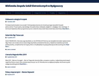 biblioteka.zse.bydgoszcz.pl screenshot