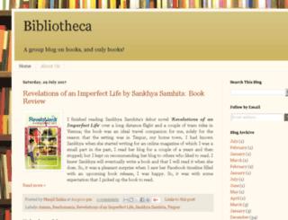 bibliotheca.in screenshot