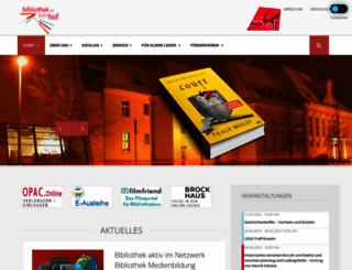 bibliothek.luckenwalde.de screenshot
