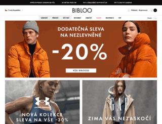 bibloo.cz screenshot