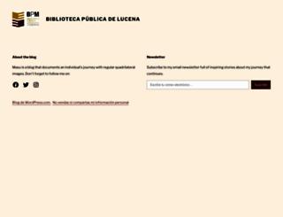 bibluc.wordpress.com screenshot