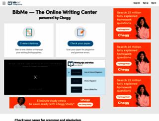 bibme.org screenshot