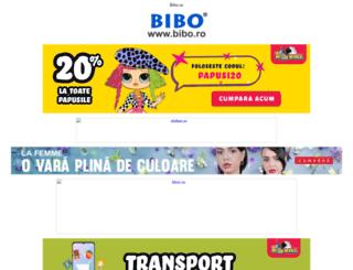 bibo.ro screenshot