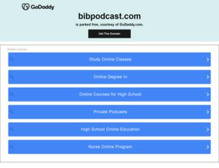 bibpodcast.com screenshot