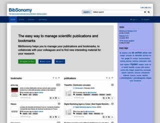 bibsonomy.org screenshot