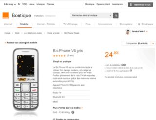 bic-phone.fr screenshot