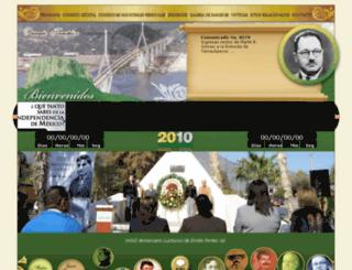 bicentenario.tamaulipas.gob.mx screenshot