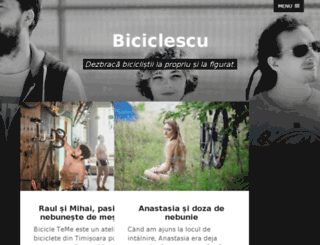 biciclescu.ro screenshot
