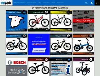 biciclick.es screenshot