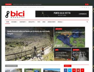 bicimagazine.it screenshot