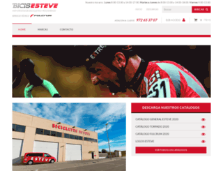 bicisesteve.com screenshot