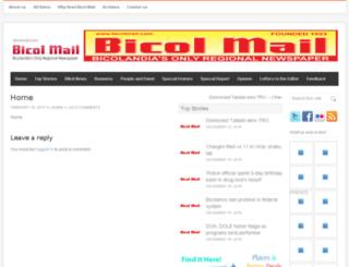 bicolmail.com screenshot
