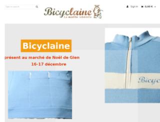 bicyclaine.fr screenshot