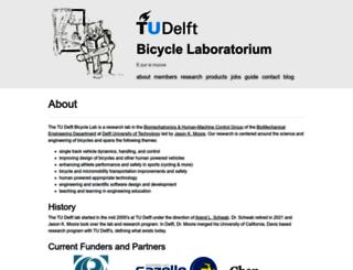 bicycle.tudelft.nl screenshot
