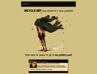 bicycleboy.webcomic.ws screenshot