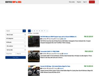 bicyclebuysell.com screenshot