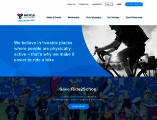 bicyclenetwork.com.au screenshot