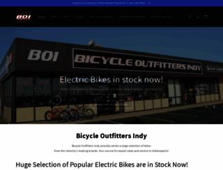 bicycleoutfittersindy.com screenshot