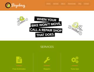 bicycleray.com screenshot