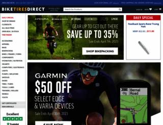 bicycletires.com screenshot