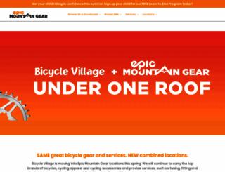 bicyclevillage.com screenshot
