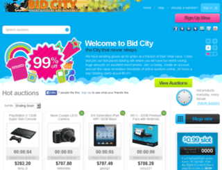 bid-city.biz screenshot