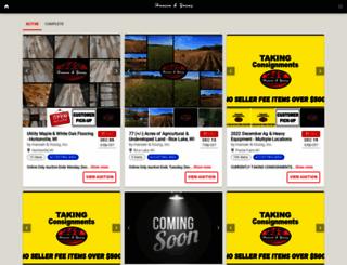 bid.hansenandyoung.com screenshot