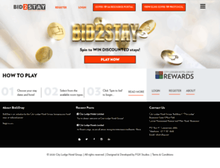 bid2stay.co.za screenshot