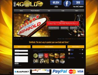 bid4gold.co.za screenshot