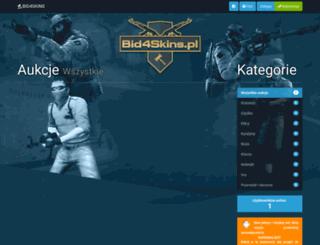 bid4skins.pl screenshot
