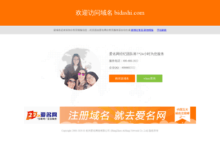 bidashi.com screenshot