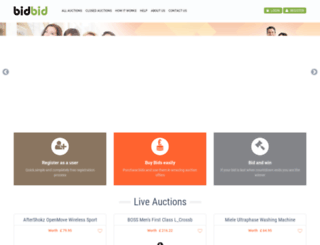 bidbid.co.uk screenshot